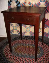 Valley of VA Walnut Side Table, Virginia